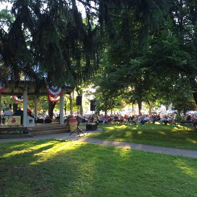 Monday night concerts in the park