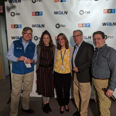 NPR Journalist Jack Speer visits WQLN