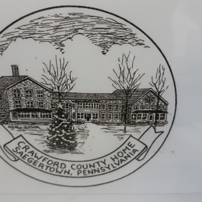 Our latest annual ornament - the Crawford County Home
