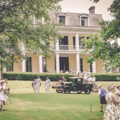 Baldwin-Reynolds House Museum during 2018 Croquet Classic